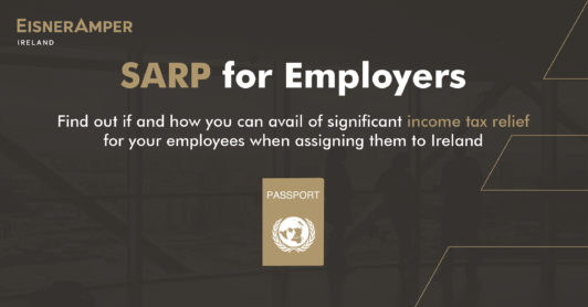 SARP for Employers Image | Payroll Services | EisnerAmper Ireland