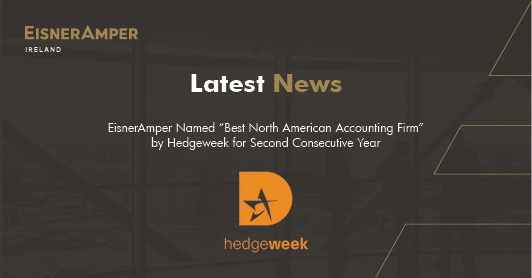 EisnerAmper wins Best North American Accounting Firm by Hedgeweek