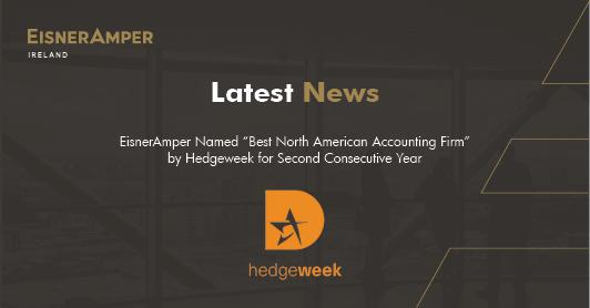 EisnerAmper wins Best North American Accounting Firm by Hedgeweek