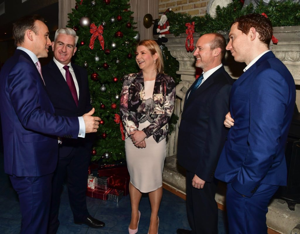 Tully Rinckey Ireland Thanksgiving Business Briefing with Barry Crushell, Partner and COO (Europe), Fintan McGovern of Firmwave, Joanne McEnteggart of First Names Group, Conor Robinson, Partner, Tully Rinckey and Cormac Doyle of EisnerAmper.