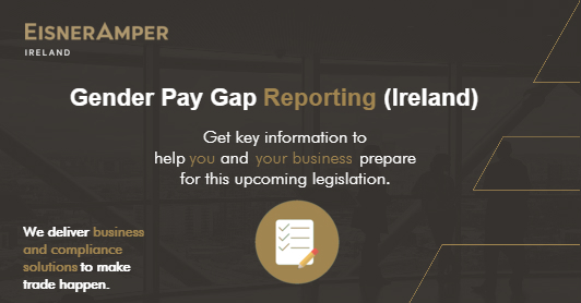 Gender Pay Gap Reporting Image | Payroll Services | Financial Services | EisnerAmper Ireland