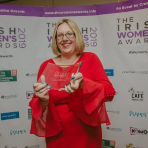 Jennifer Kelly at the Irish Women's Awards 2019