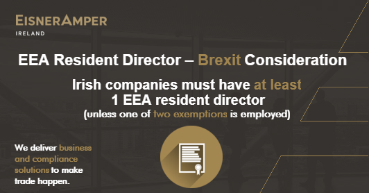 EEA Resident Director Brexit Consideration Image | Company Secretarial Services