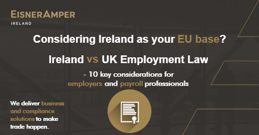 Ireland UK employment law compared - 10 key differences