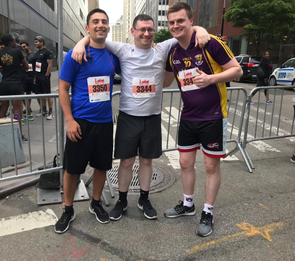Joey Halligan | AHA Wall Street Run | US Secondee Blog | Financial Services | EisnerAmper Ireland