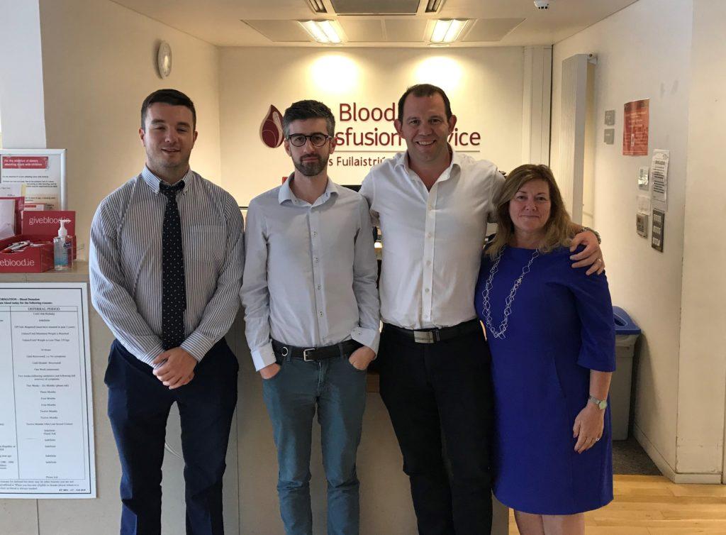 Blood Donation | Irish Blood Transfusion Service | CSR | EisnerAmper Ireland