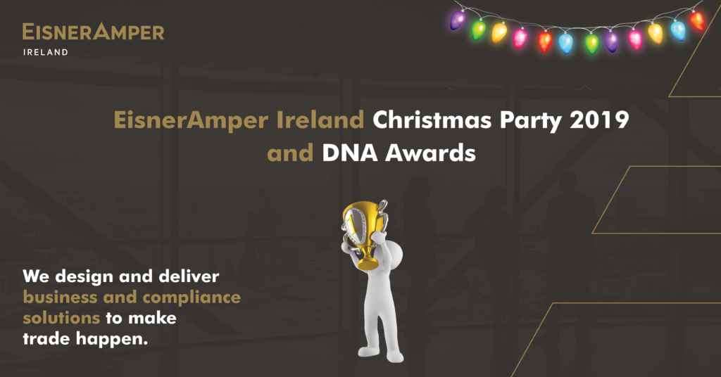 Christmas Party 2019 | DNA Awards | CSR | Fiancial Services | EisnerAmper Ireland
