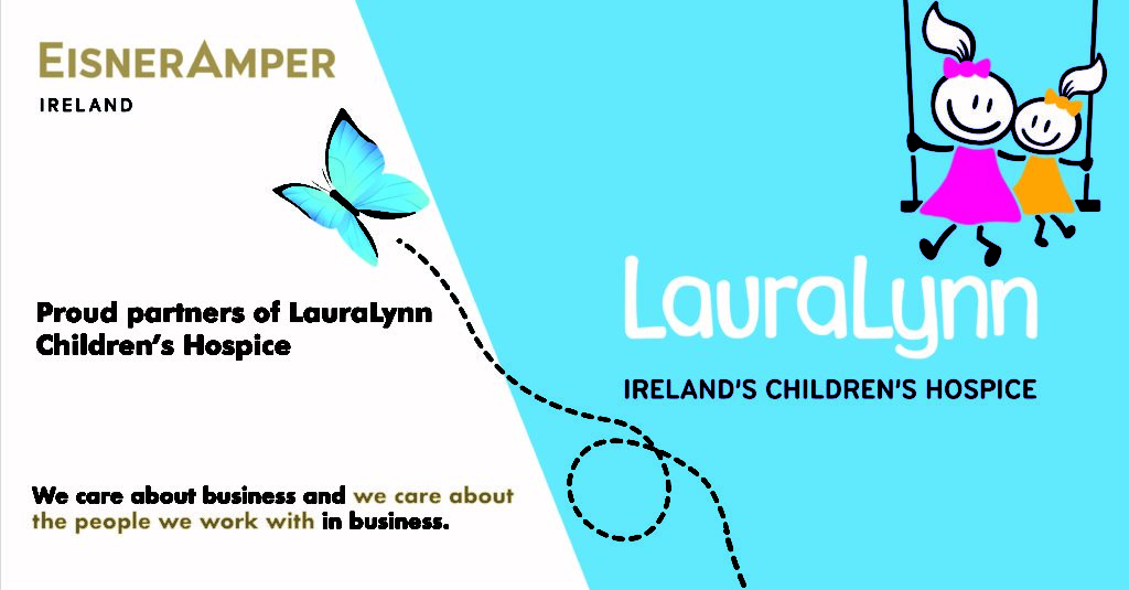 100k in June for LauraLynn Fundraiser| CSR | Financial Services | EisnerAmper Ireland