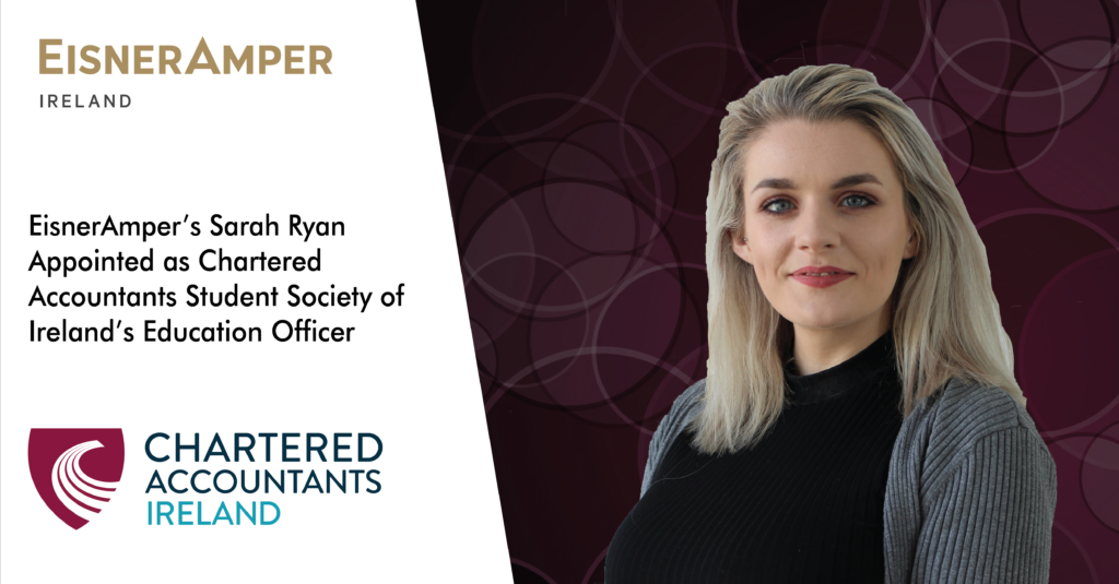 Sarah Ryan | Education Officer | Financial Services | EisnerAmper Ireland