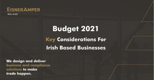 Budget 2021 | Tax Services | EisnerAmper Ireland | Financial Services