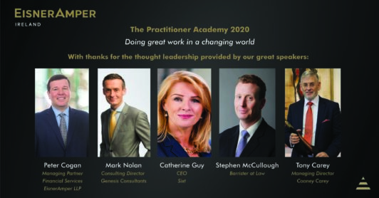 Practitioner Academy 2020 | CSR | Financial Services | EisnerAmper Ireland