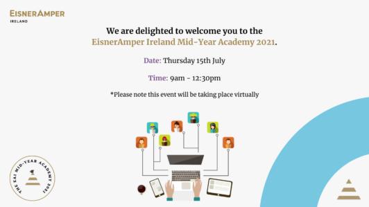 Mid-Year Academy 2021 | EisnerAmper Ireland | Financial Services