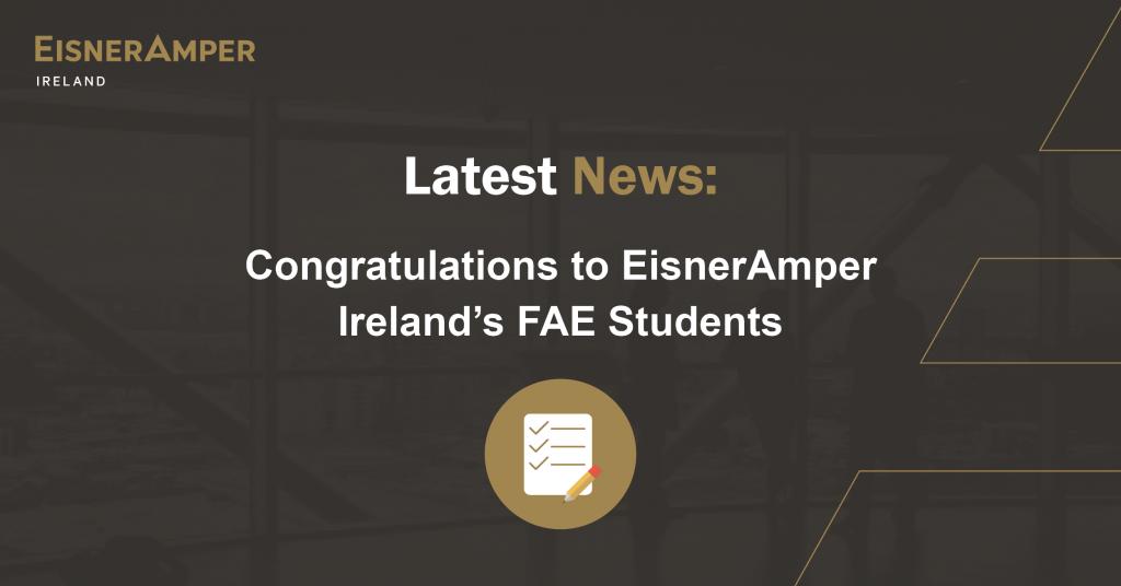 FAE Results 2021   EisnerAmper Ireland   Financial Services